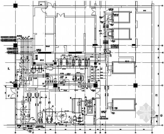 [北京]锅炉房工艺设计施工图