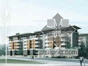 [西安]某精品人文地标社区建筑设计分析