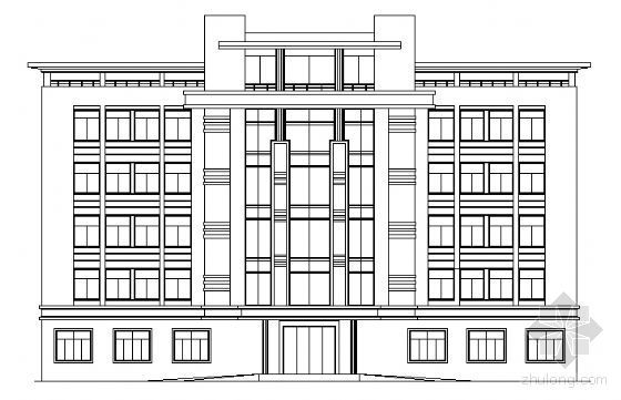 杭州市萧山某五层办公楼建筑施工图