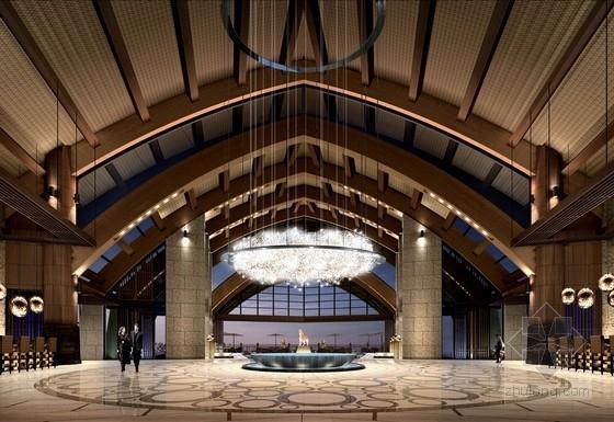 [三亚]欧洲最大酒店集团奢华五星级度假酒店室内设计方案
