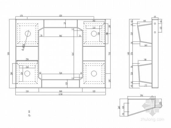 13米20米空心板梁模板设计套图(24张)