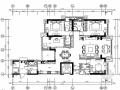 [福州]花园小区大四居样板间室内装修图