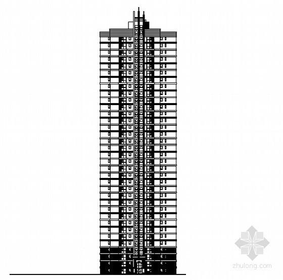 [河北省三河市]某现代小区建筑楼群建施图
