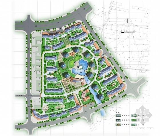 [丽水]滨水居住小区景观规划设计方案