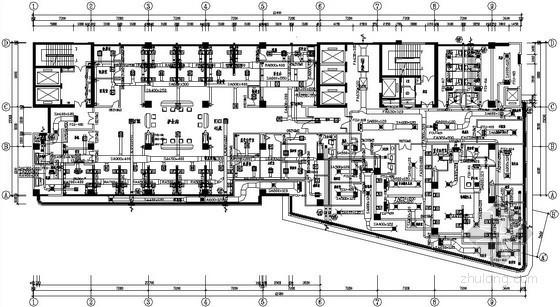 ICU净化系统资料下载-医院洁净空调及ICU净化工程设计图