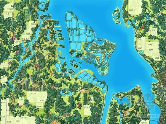 [山东]河道湿地公园景观规划设计(香港著名公司设计)
