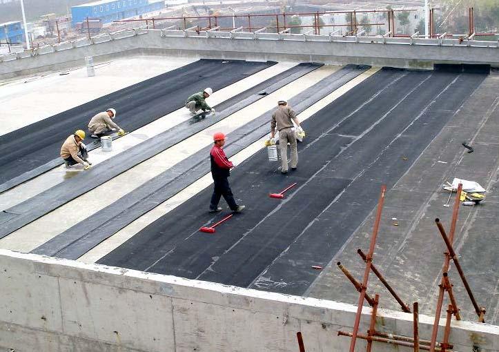 建筑屋面防水工程施工