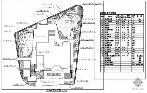 上海某别墅景观设计施工图