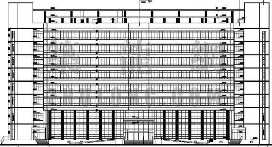 某税务局综合办公楼建筑设计方案
