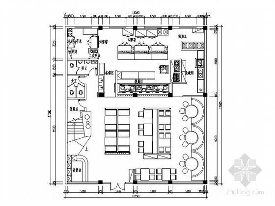 [宁波]连锁特色中餐厅施工图(含效果)