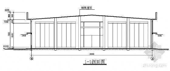 现代汽车某展示中心建筑方案图-2