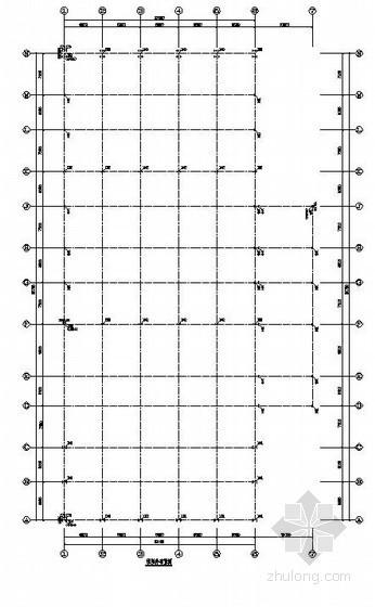 [四川]单层轻钢结构汽车4S店结构施工图