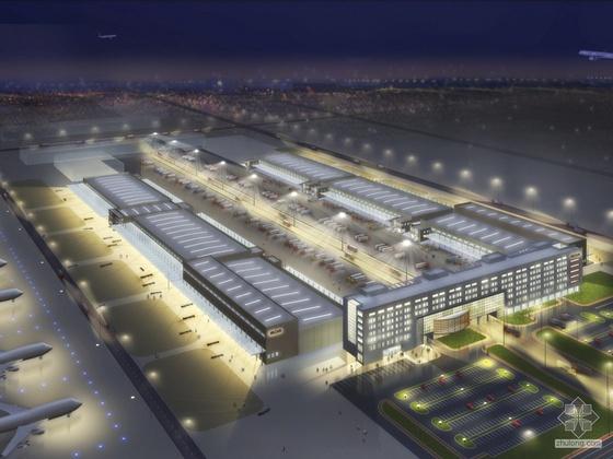 [北京]某机场货运站建筑方案设计