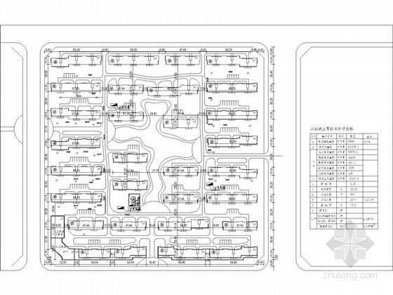 [河南]某住宅小区及幼儿园水源热泵区域外网设计图