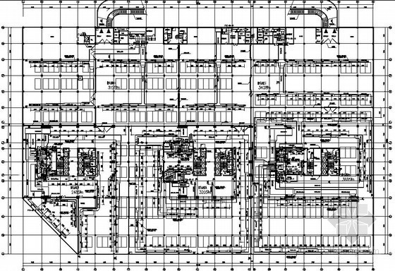 [安徽]金融中心空调通风设计图纸