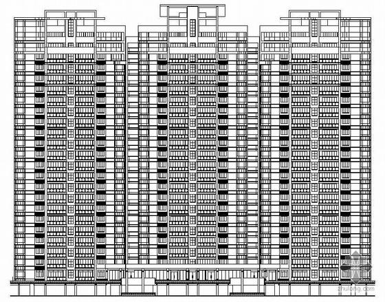 [汕头]某十六层商住楼建筑施工图