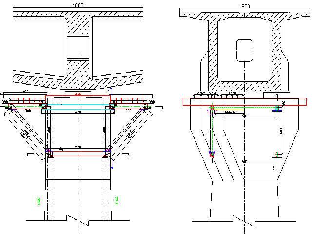 [浙江]铁路大桥2x80m连续梁2榀工字钢计算书17页