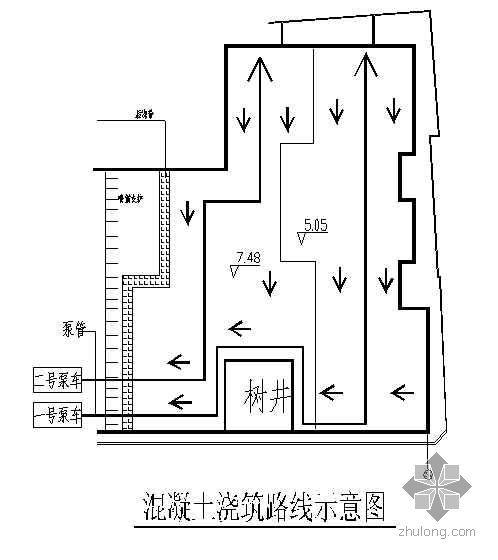 苏州某工程大体积混凝土浇筑施工方案