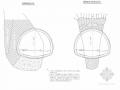 隧道工程溶洞处理设计图(含无水溶洞)