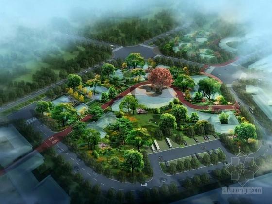 [江苏]自然山水绿色生活风景区景观规划方案