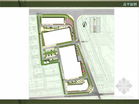 景观设计方案,包括总平面图,鸟瞰图,方案设计,局部效果图,共12页ppt图片