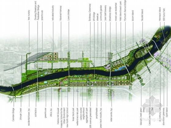 [美国]可持续化弹性滨河地区景观规划设计方案(国外设计所英文)