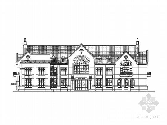 [北京]6班英式豪华幼儿园建筑施工图(知名设计院)