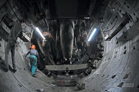 [南京]地铁盾构机开仓换刀施工方案(28页)