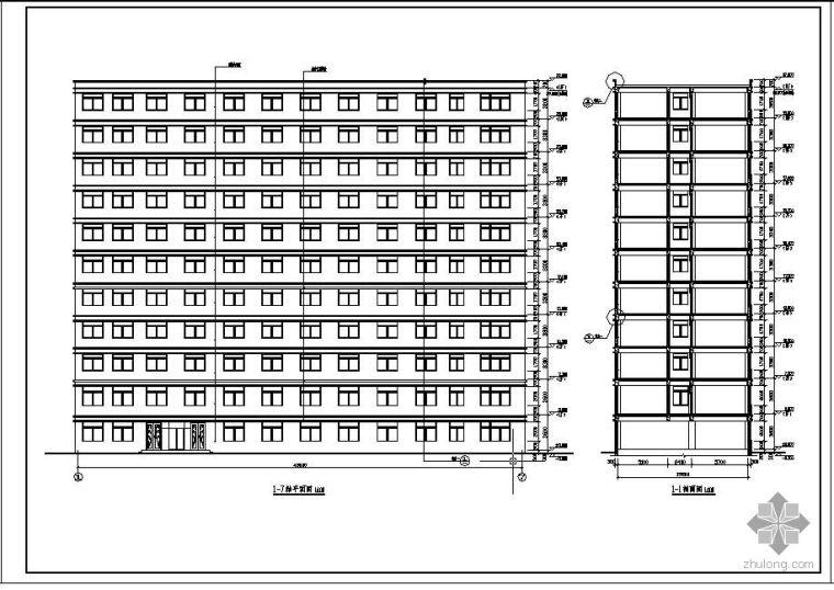 [学士]某11层经济型旅馆毕业设计(含计算书、建筑结构设计图)