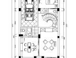 [合肥]奢华大气欧式高档别墅室内设计CAD施工图