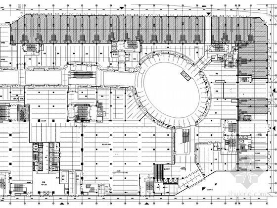 [山东]28万平商业综合体给排水全套图纸(太阳能热水 水幕系统)