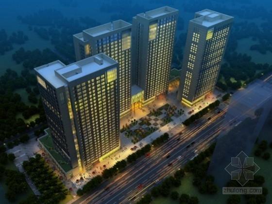 [济南]商务办公楼、商务公寓、裙楼、连接体综合结构施工图(168张)
