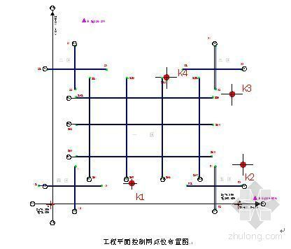 [长春]办公楼工程测量施工方案(鲁班奖)