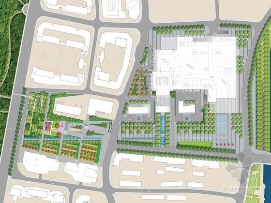[浙江]老镇广场及公园景观规划设计方案(英文方案文本)