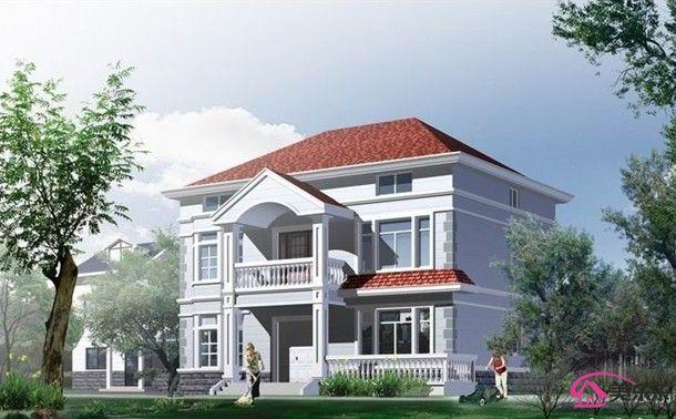 农村两层房屋设计图(四)图片