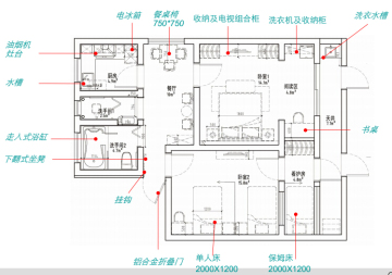 """[杭州]""""孝亲屋""""社区嵌入型养老机构改造项目4套方案含效果图"""
