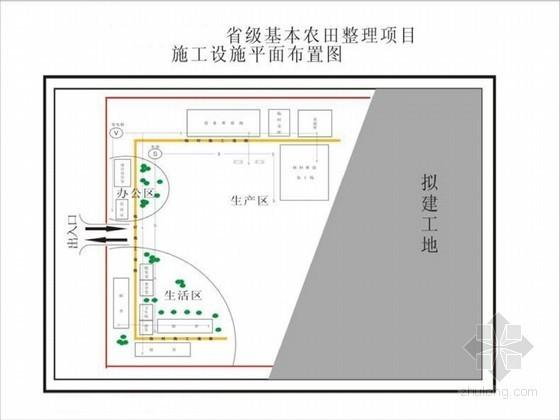 [海南]省级基本农田水利建设施工组织设计(完整)