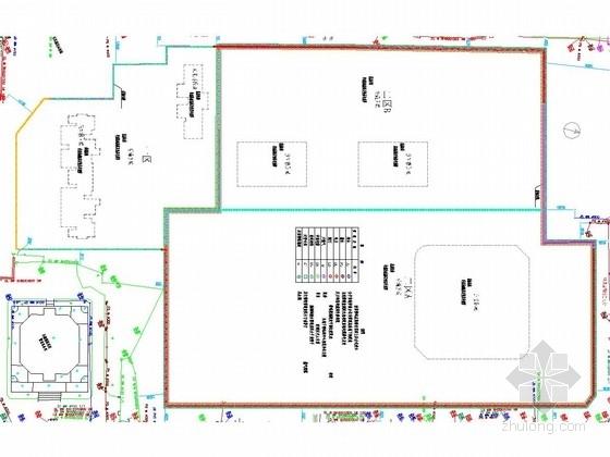 [湖北]29米深基坑地下连续墙加四道内支撑支护施工图(TRD工法止水帷幕)