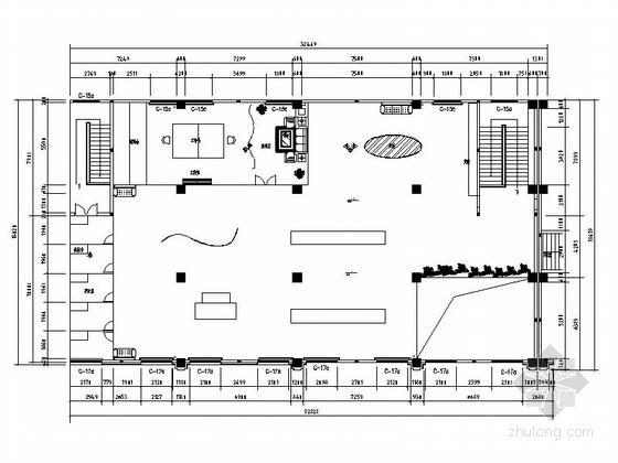 [福建]现代风格服装专卖店室内装修设计施工图