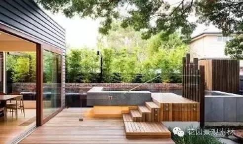 木和砖造景的美_4