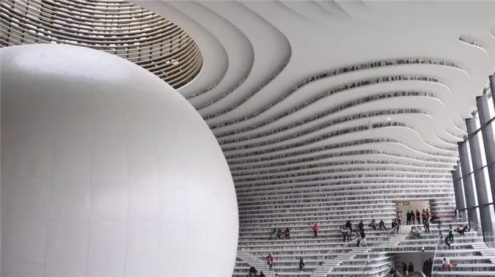 天津图书馆火了!说说全球最顶尖的图书馆都长啥样?!