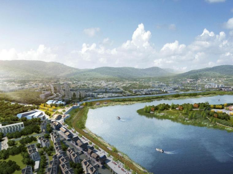 [四川]广安市中心城区滨江两岸城市景观设计