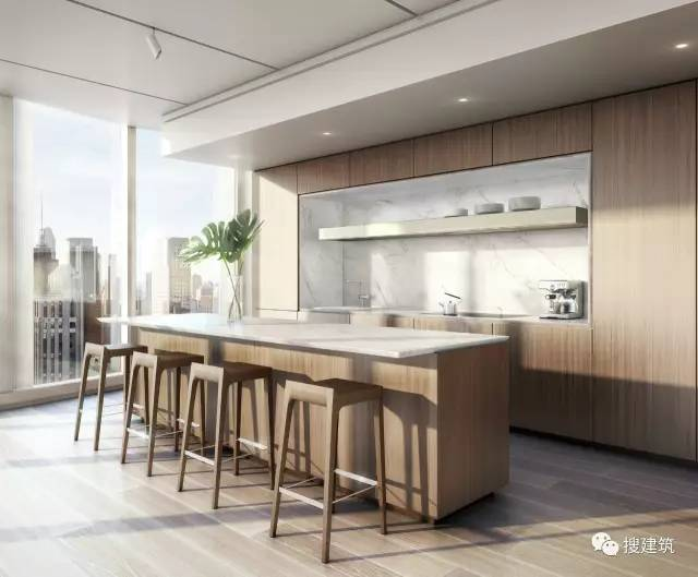 """万科200米高、61层的""""新地标住宅"""",1000-1600平方英尺的户型设_20"""