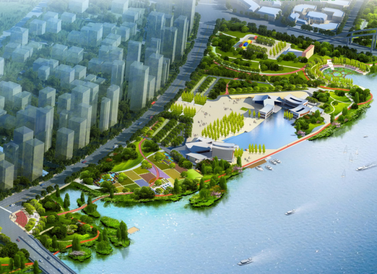 [浙江]玉环湖环岛漂浮水上公园环境生态整治工程设计(PDF+194页)