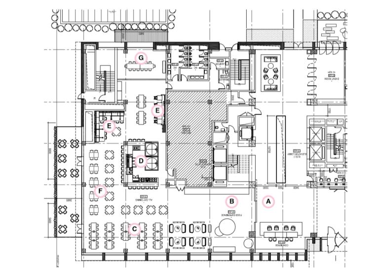 [上海]如恩设计餐厅室内设计概念方案