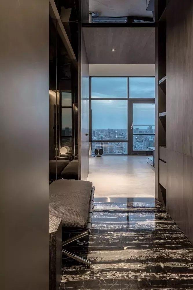 室内设计 130㎡的单身公寓,设计感十足_2