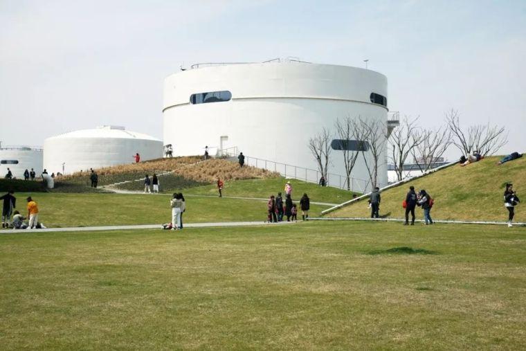 设计|OPEN事务所新作'上海油罐艺术中心',正式向公众开放