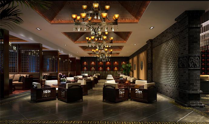 资阳茶楼装修设计公司,资阳茶楼设计公司-《大容和茶楼》