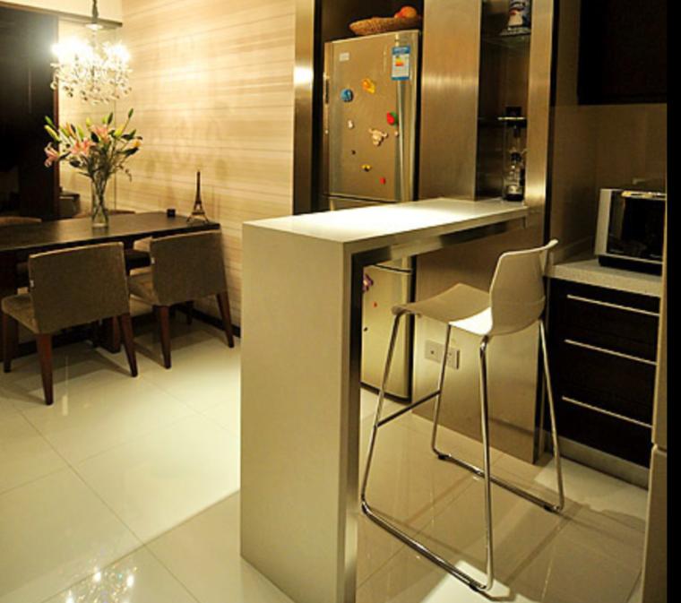 优雅现代美式住宅简约大气范室内装修设计效果图方案(22张)