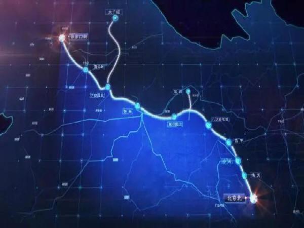 正在建设中的智能京张高铁,犹如科幻大片!